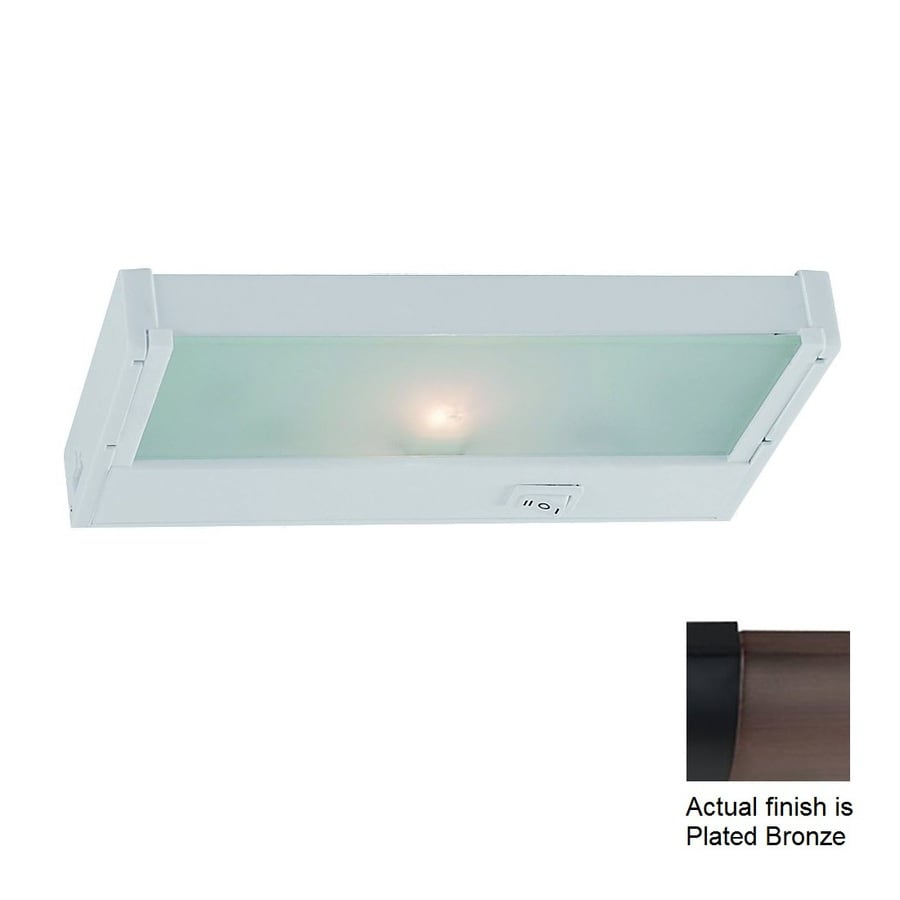 Ambiance by Sea Gull 8.125-in Hardwired/Plug-in Under Cabinet Xenon Light Bar