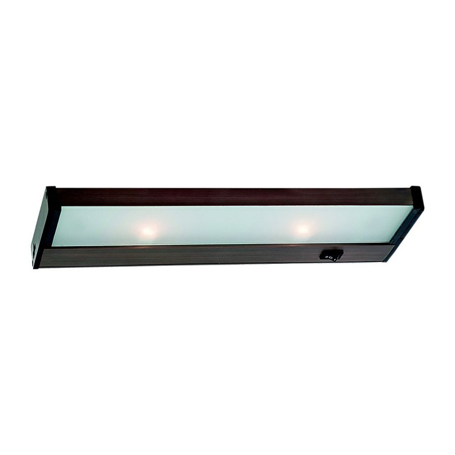 Ambiance by Sea Gull 14-in Hardwired/Plug-in Under Cabinet Xenon Light Bar