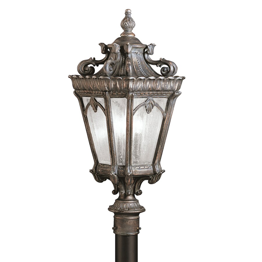 Kichler Tournai 27-in H Londonderry Post Light