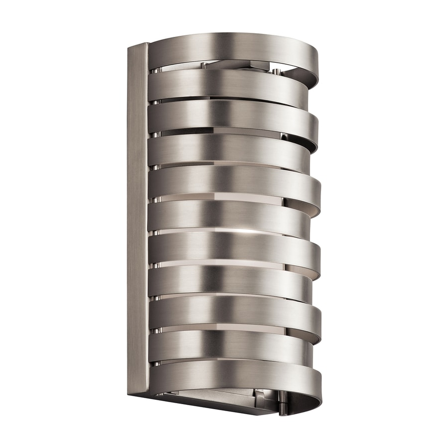 Kichler Lighting Roswell 6-in W 1-Light Brushed Nickel Pocket Wall Sconce