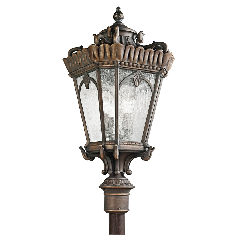 Kichler Lighting Tournai 37.5-in H Londonderry Post Light