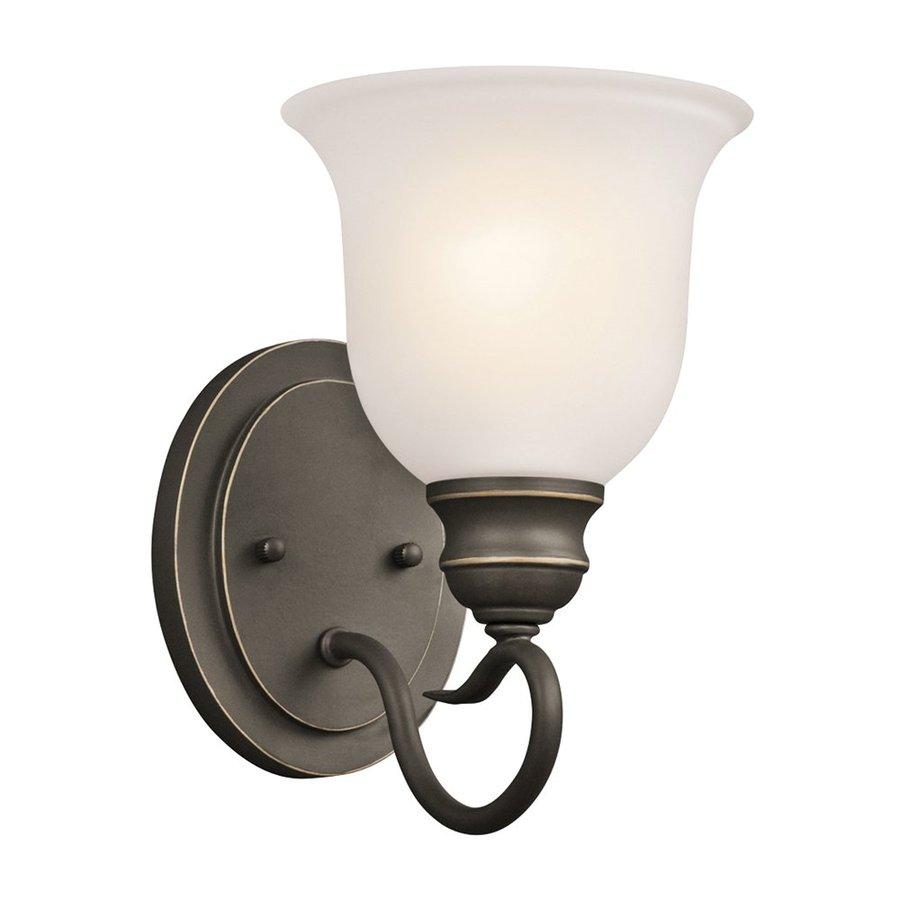 Kichler Tanglewood 1-Light 9.25-in Olde bronze Bell Vanity Light