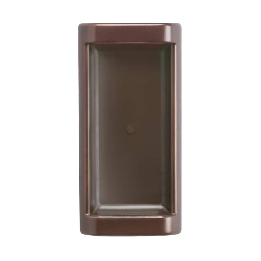 Kichler 1-Light 14.25-in Olde bronze Rectangle LED Vanity Light