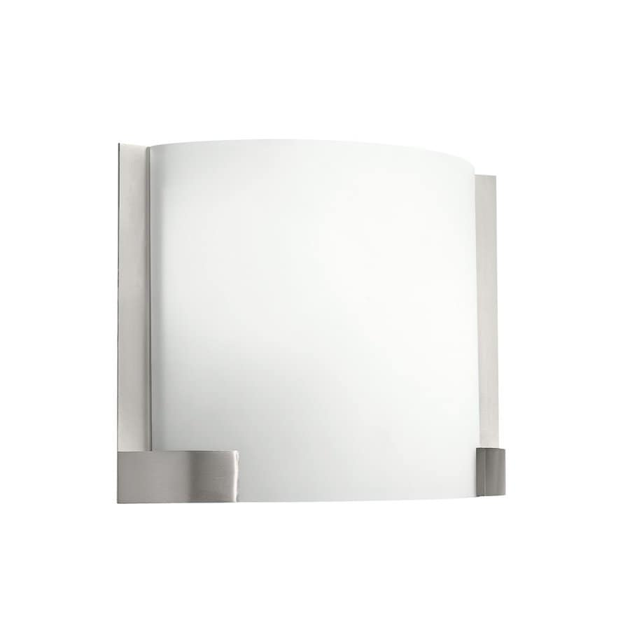 Kichler Nobu 1-Light 9.5-in Brushed Nickel Rectangle Vanity Light