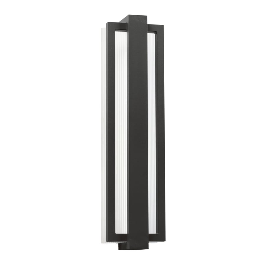 Kichler Lighting Sedo 24-in H LED Satin Black Outdoor Wall Light