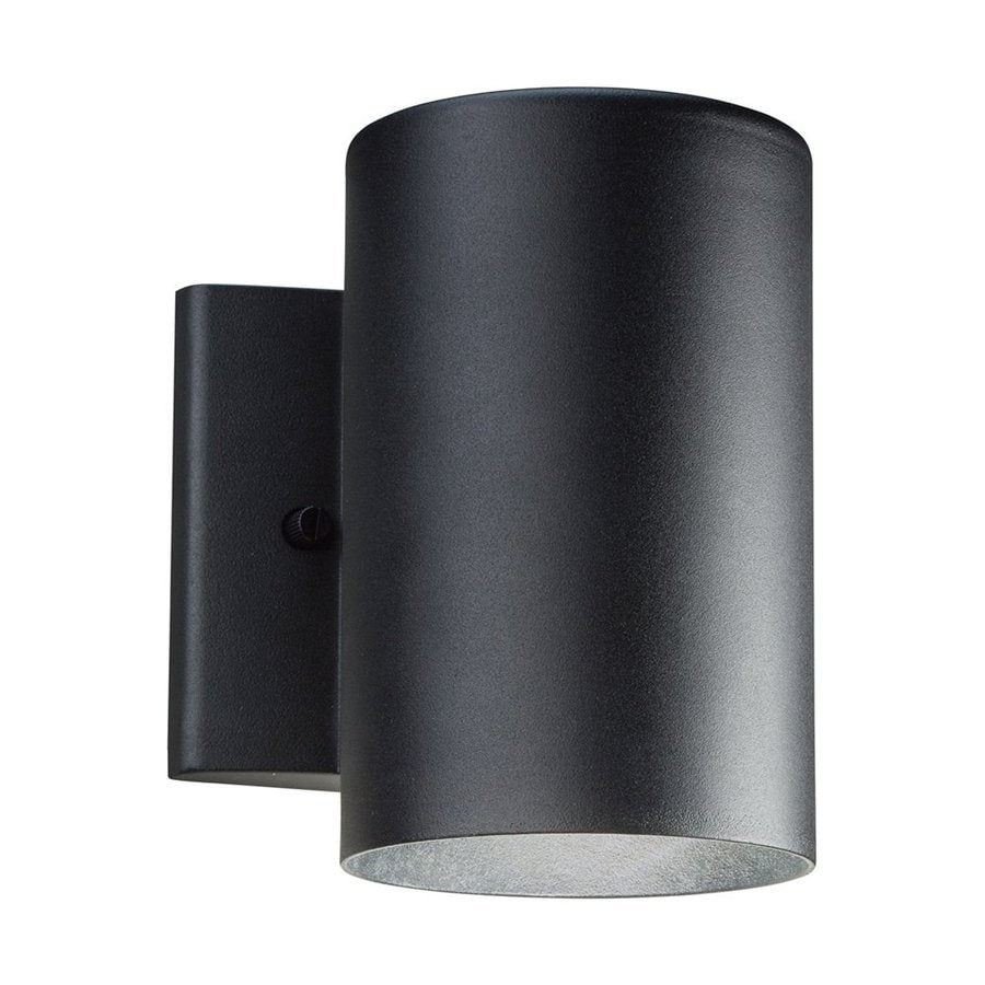Shop Kichler 7 In H Textured Black Dark Sky Led Outdoor