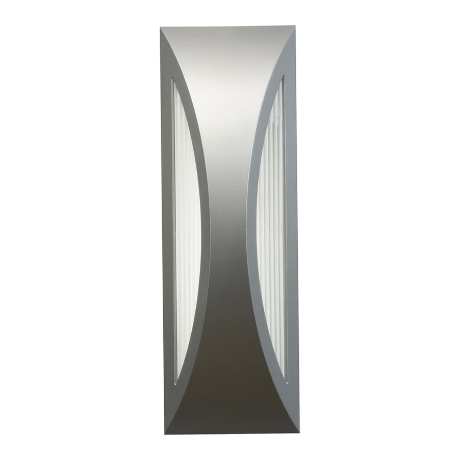 Kichler Cesya 18-in H LED Platinum Outdoor Wall Light