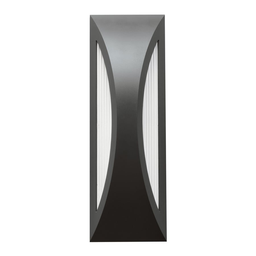 Kichler Cesya 18-in H Satin Black LED Outdoor Wall Light