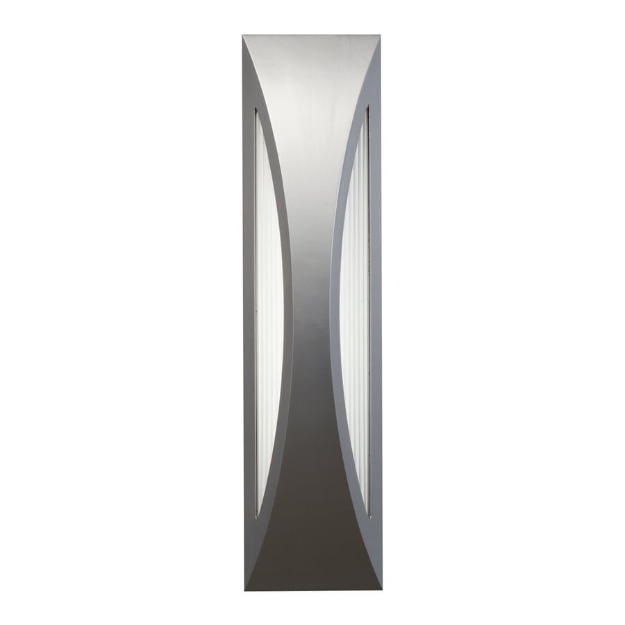 Kichler Cesya 24-in H LED Platinum Outdoor Wall Light