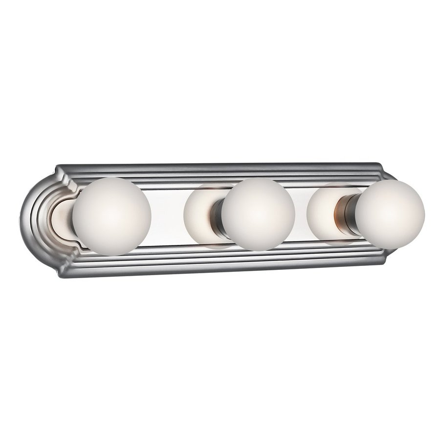 Shop Kichler 3 Light Chrome Vanity Light Bar At