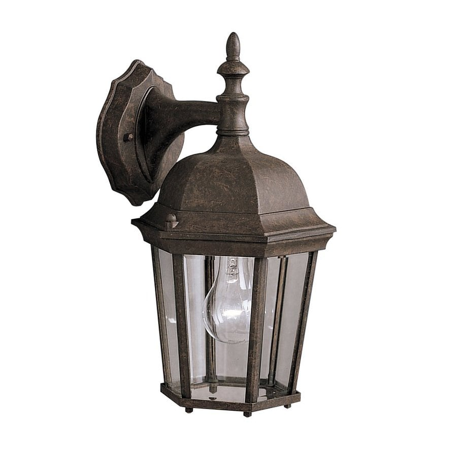 Kichler Lighting Madison 14.75-in H Tannery Bronze Outdoor Wall Light
