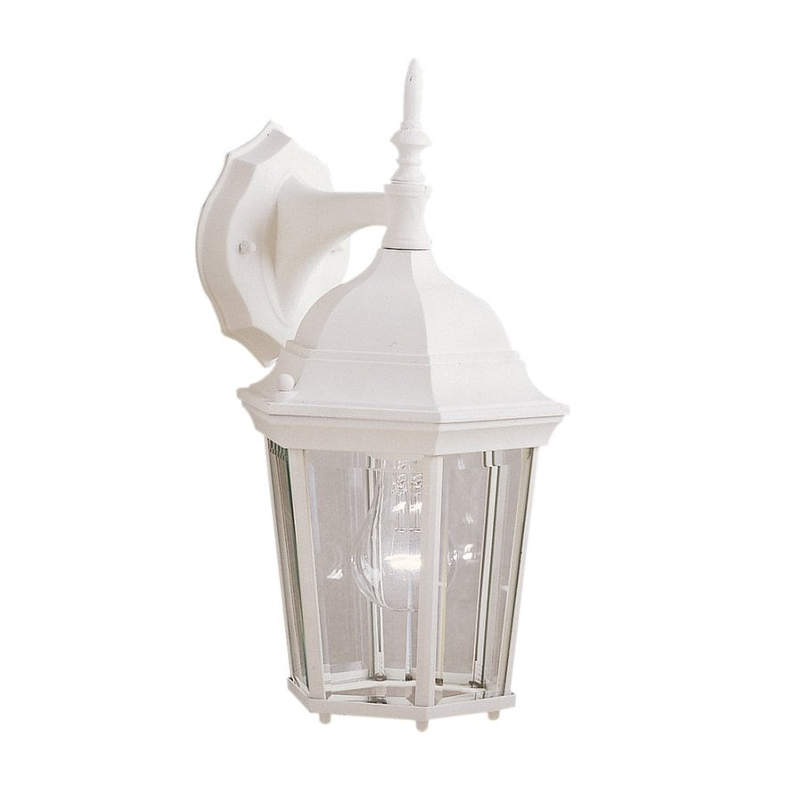 Kichler Madison 14.75-in H White Outdoor Wall Light