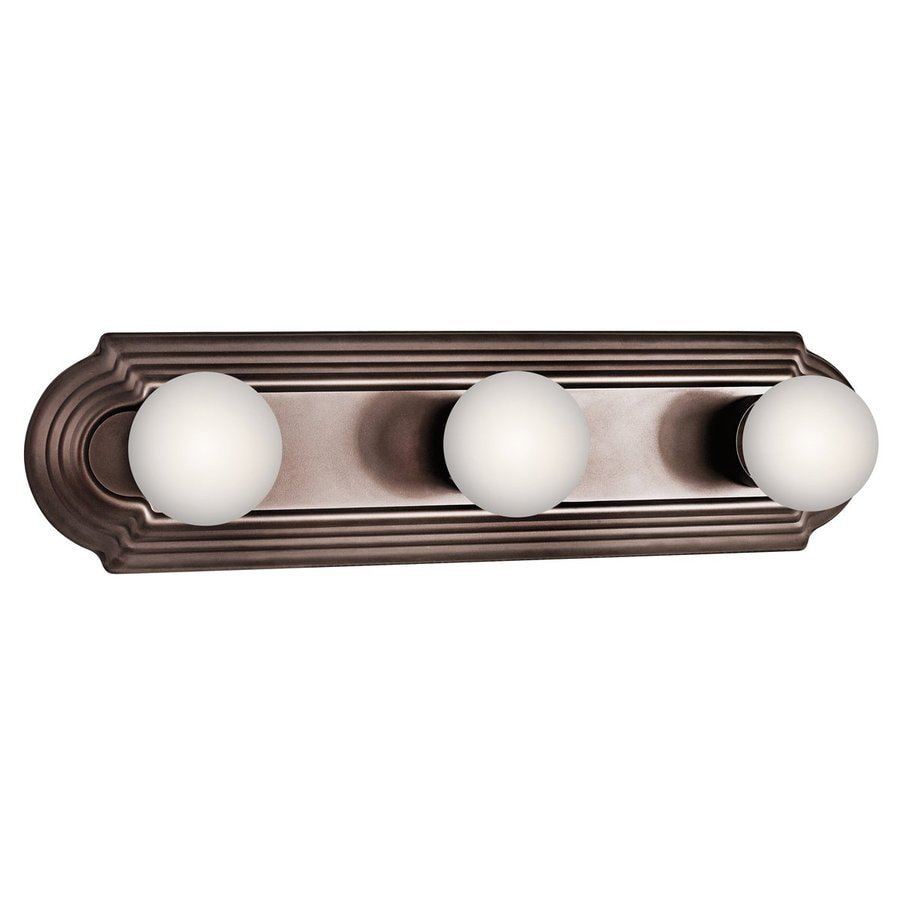 Kichler 3-Light 4.75-in Tannery Bronze Vanity Light Bar