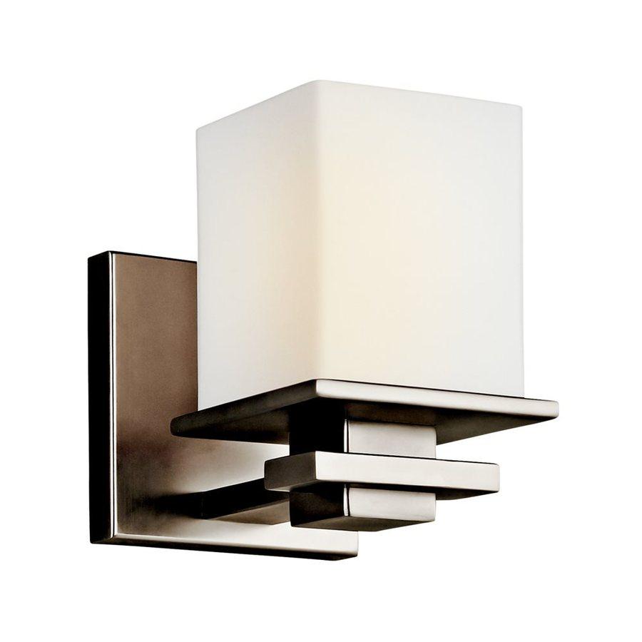 Kichler Lighting Tully 1-Light 6.5-in Antique Pewter Square Vanity Light