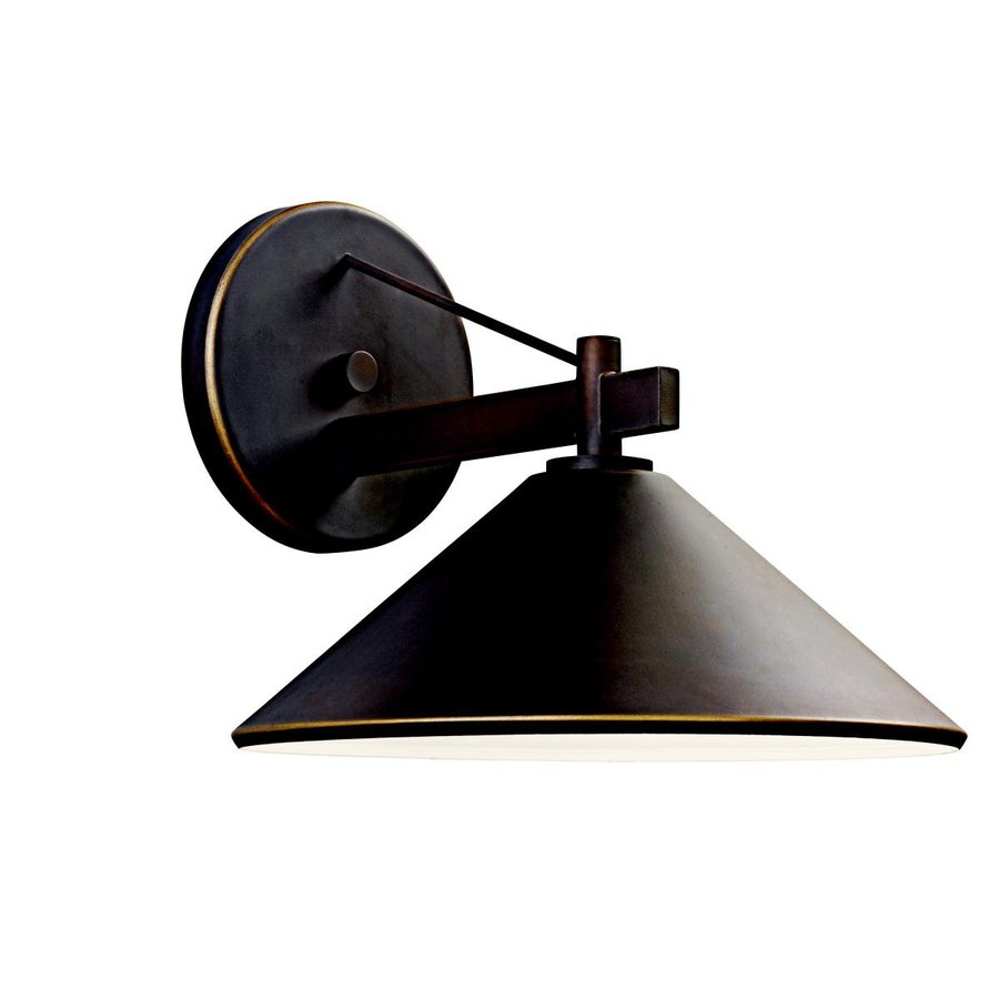 Kichler Lighting Ripley 10-in H Olde Bronze Dark Sky Outdoor Wall Light