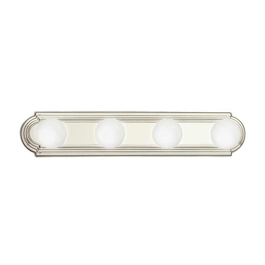 Kichler 4-Light 4.75-in Brushed Nickel Vanity Light Bar
