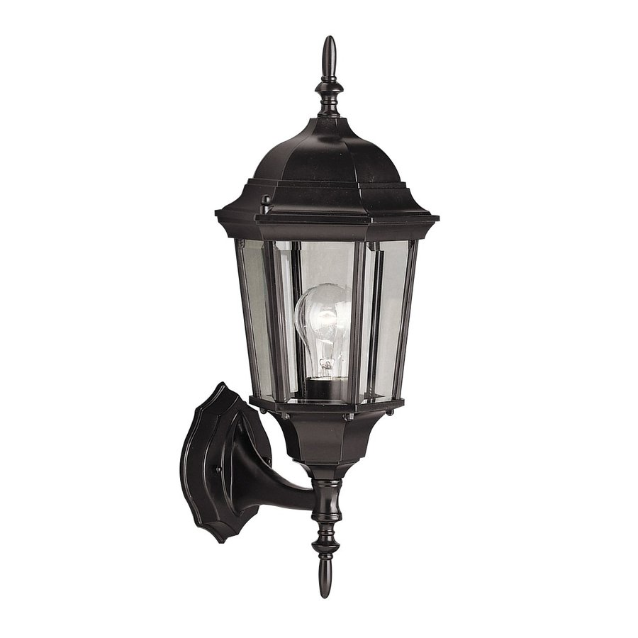 Kichler Lighting Madison 19.5-in H Black Outdoor Wall Light