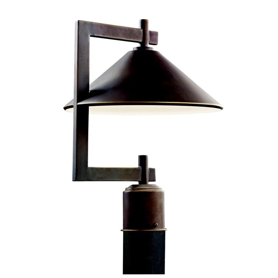 Kichler Ripley 16-in H Olde Bronze Post Light