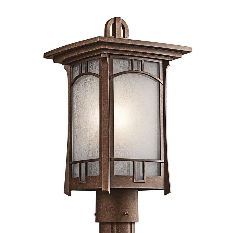 Kichler Lighting Soria 16-in H Aged Bronze Post Light