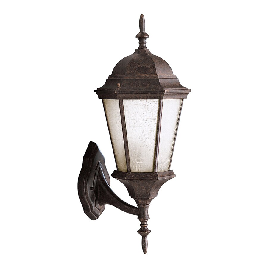 Kichler Madison 22.75-in H Tannery Bronze Outdoor Wall Light