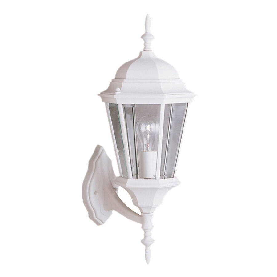 Kichler Madison 22.75-in H White Outdoor Wall Light
