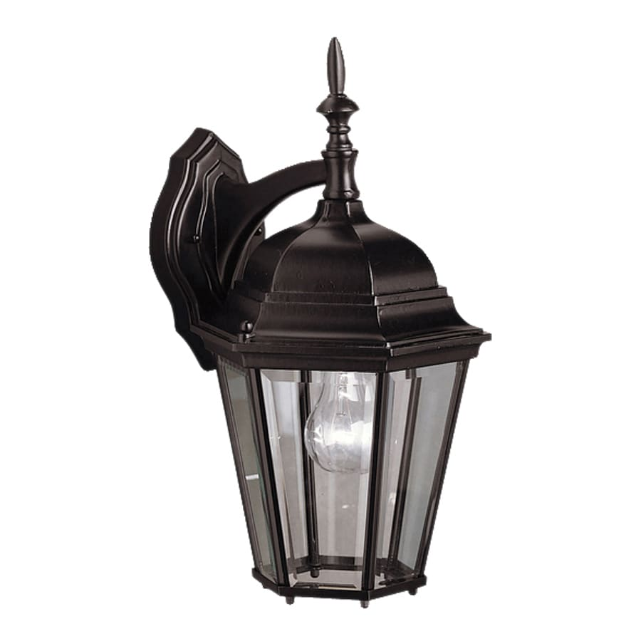 Kichler Madison 17-in H Black Outdoor Wall Light