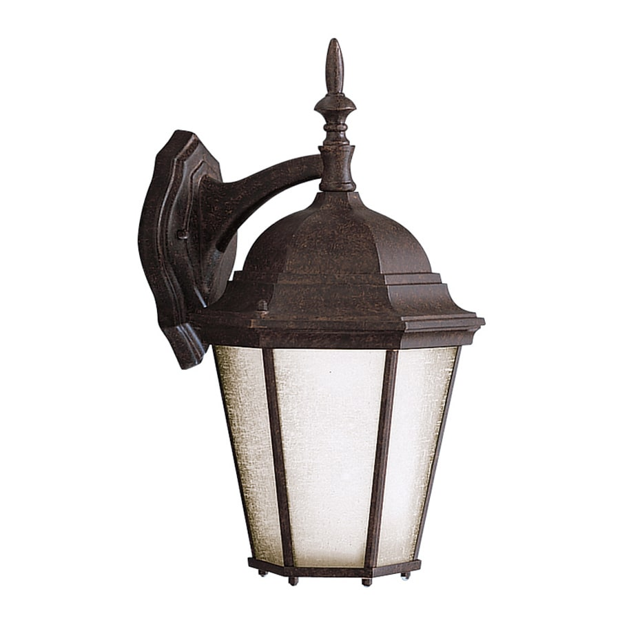 Kichler Madison 17-in H Tannery Bronze Outdoor Wall Light