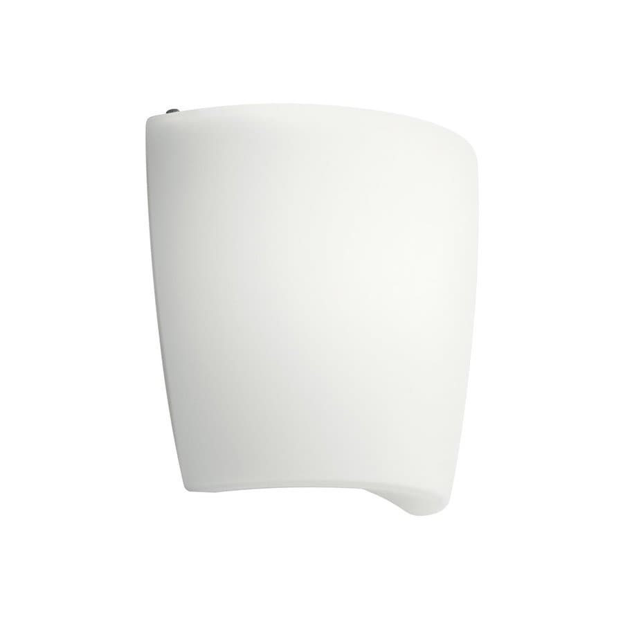 Shop Kichler 1-Light 8.75-in White Cylinder Vanity Light at Lowes.com