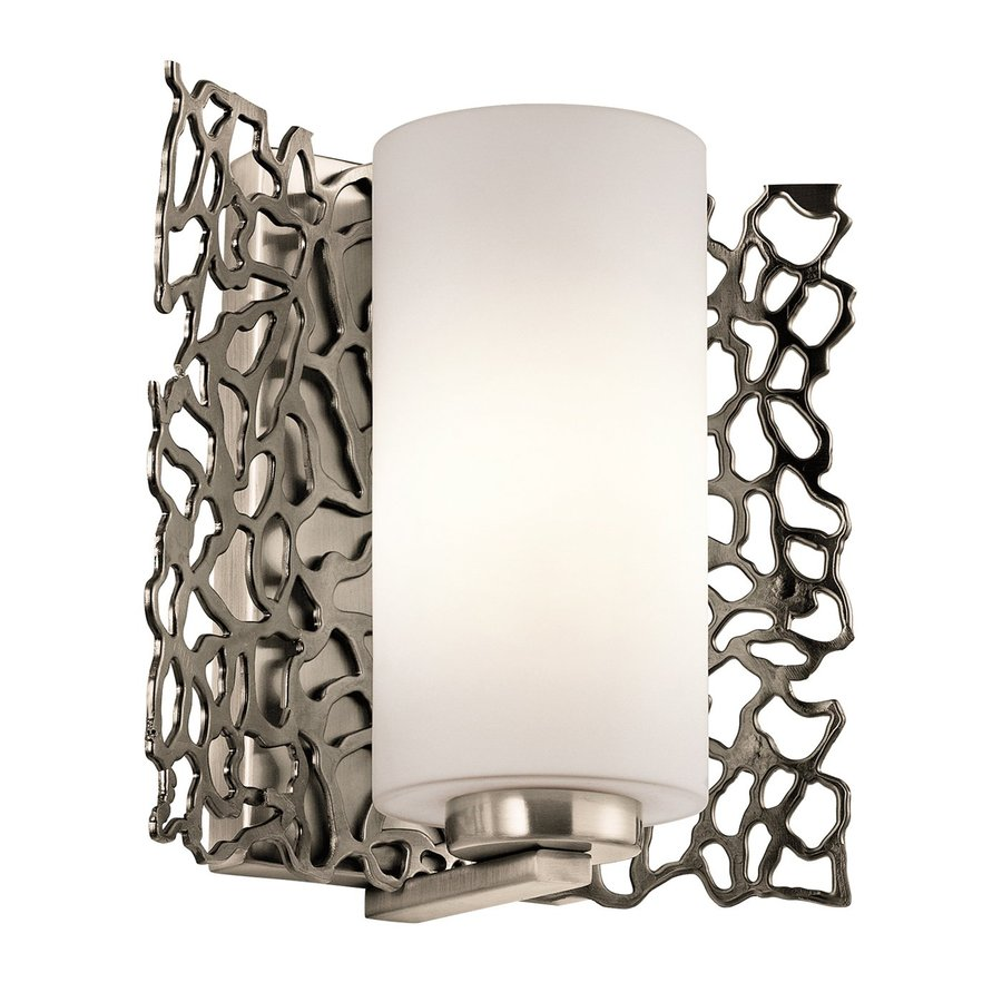 Shop Kichler Lighting Silver Coral 75 In W 1 Light Classic Pewter