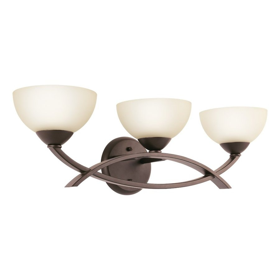 Kichler Lighting Bellamy 3-Light 7-in Olde Bronze Bowl Vanity Light