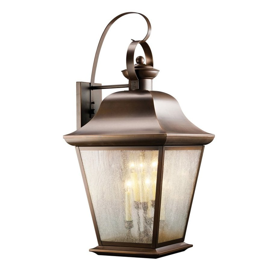 Kichler Mount Vernon 32.5-in H Olde Bronze Outdoor Wall Light