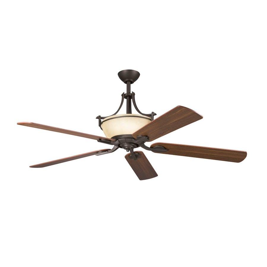 Kichler Olympia 60 In Olde Bronze Indoor Ceiling Fan And