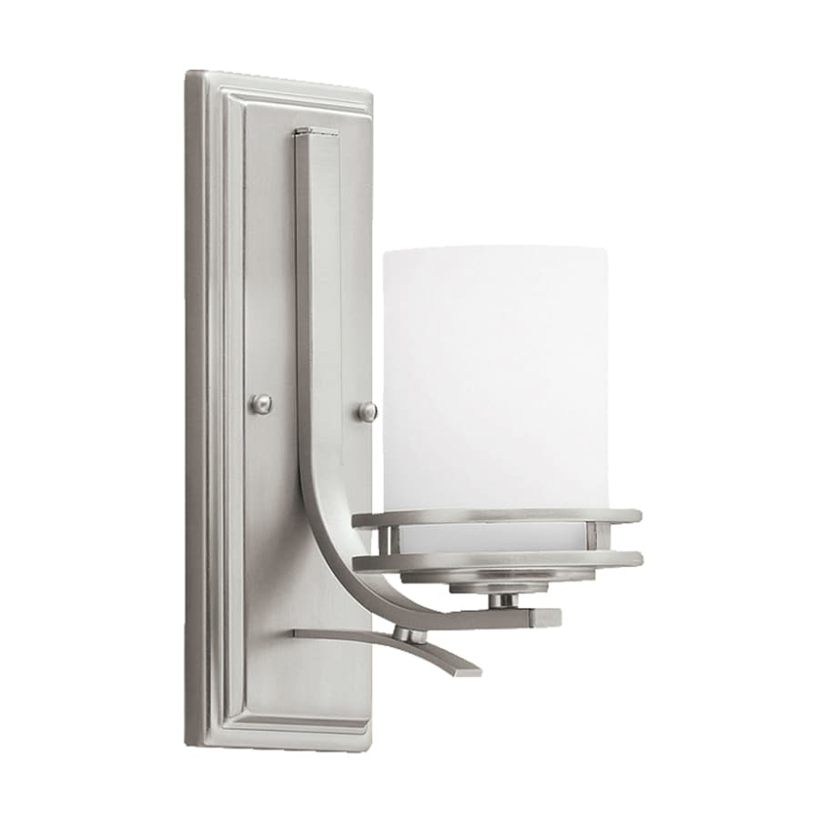 Kichler Lighting Hendrik 1-Light 12-in Brushed Nickel Cylinder Vanity Light