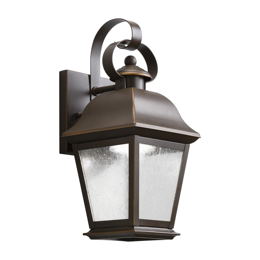 Kichler Mount Vernon 12.5-in H LED Olde Bronze Outdoor Wall Light