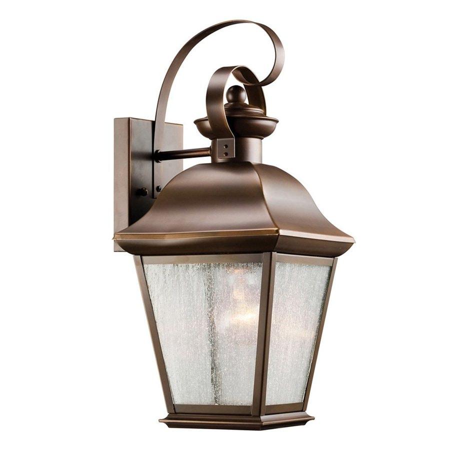 Kichler Lighting Mount Vernon 16.75-in H Olde Bronze Outdoor Wall Light
