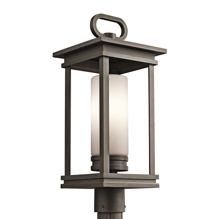 Kichler South Hope 21.5-in H Olde Bronze Post Light