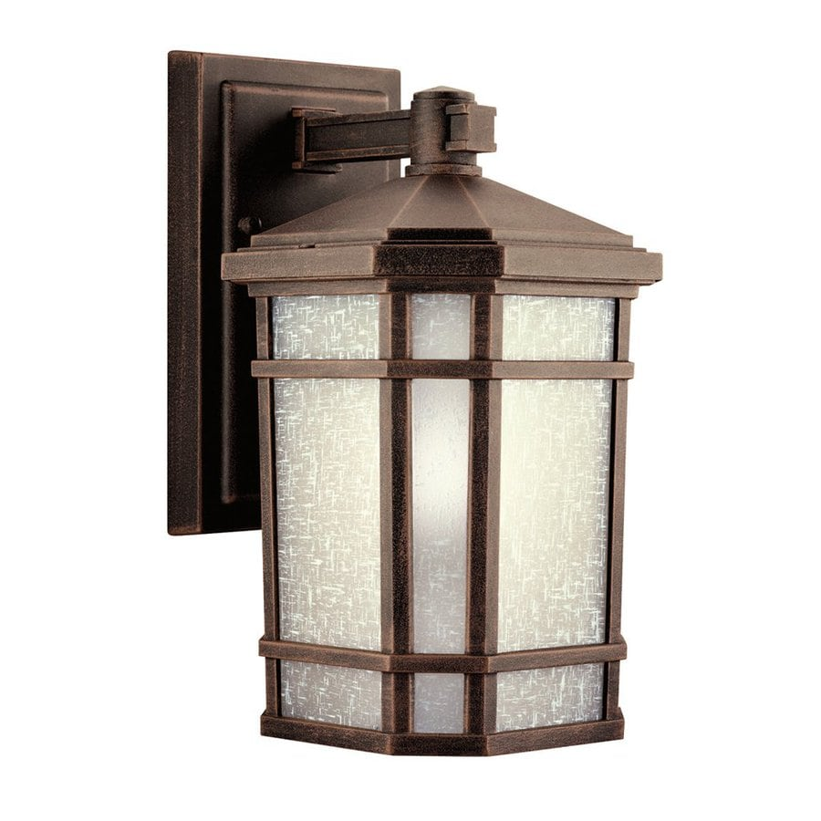 Kichler Cameron 10.75-in H Prairie Rock Outdoor Wall Light