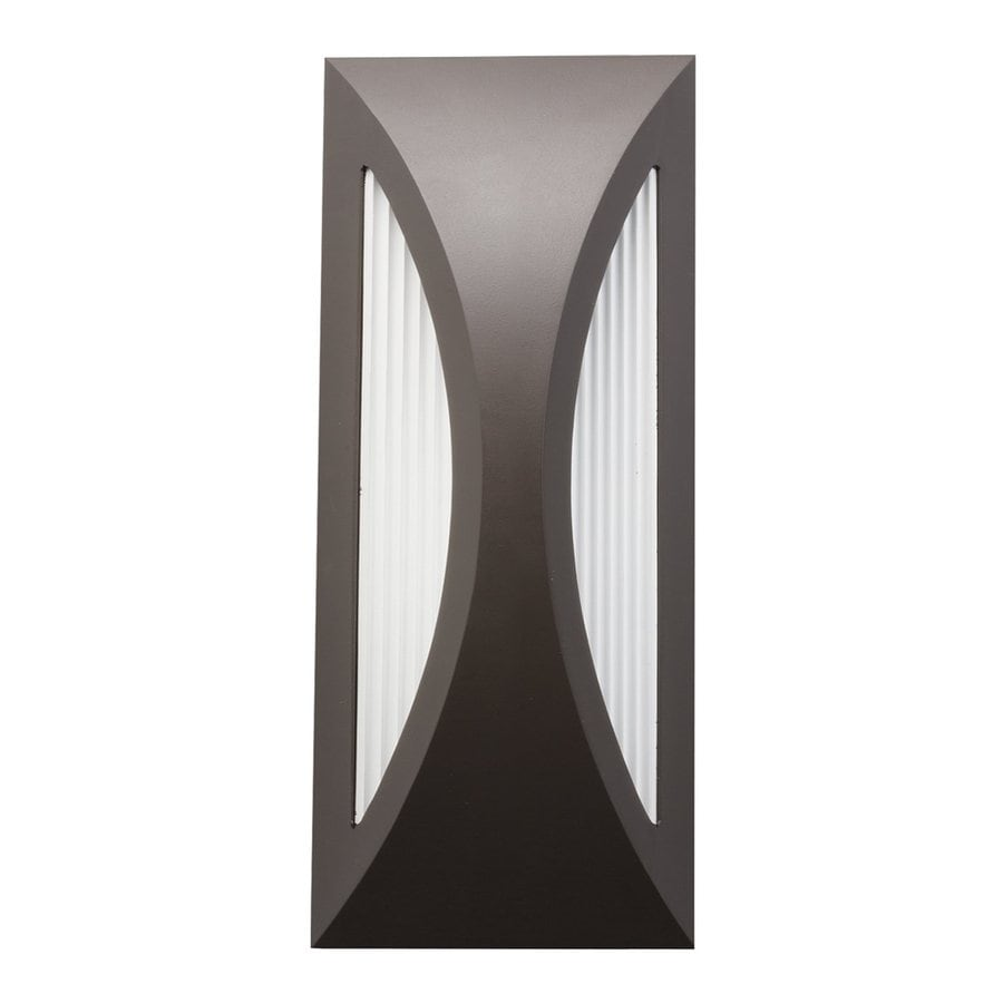 Kichler Lighting Cesya 12-in H LED Architectural Bronze Outdoor Wall Light