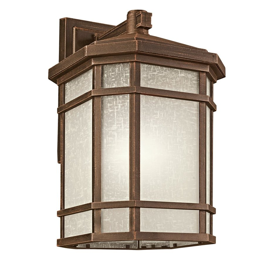 Kichler Lighting Cameron 20.5-in H Prairie Rock Outdoor Wall Light