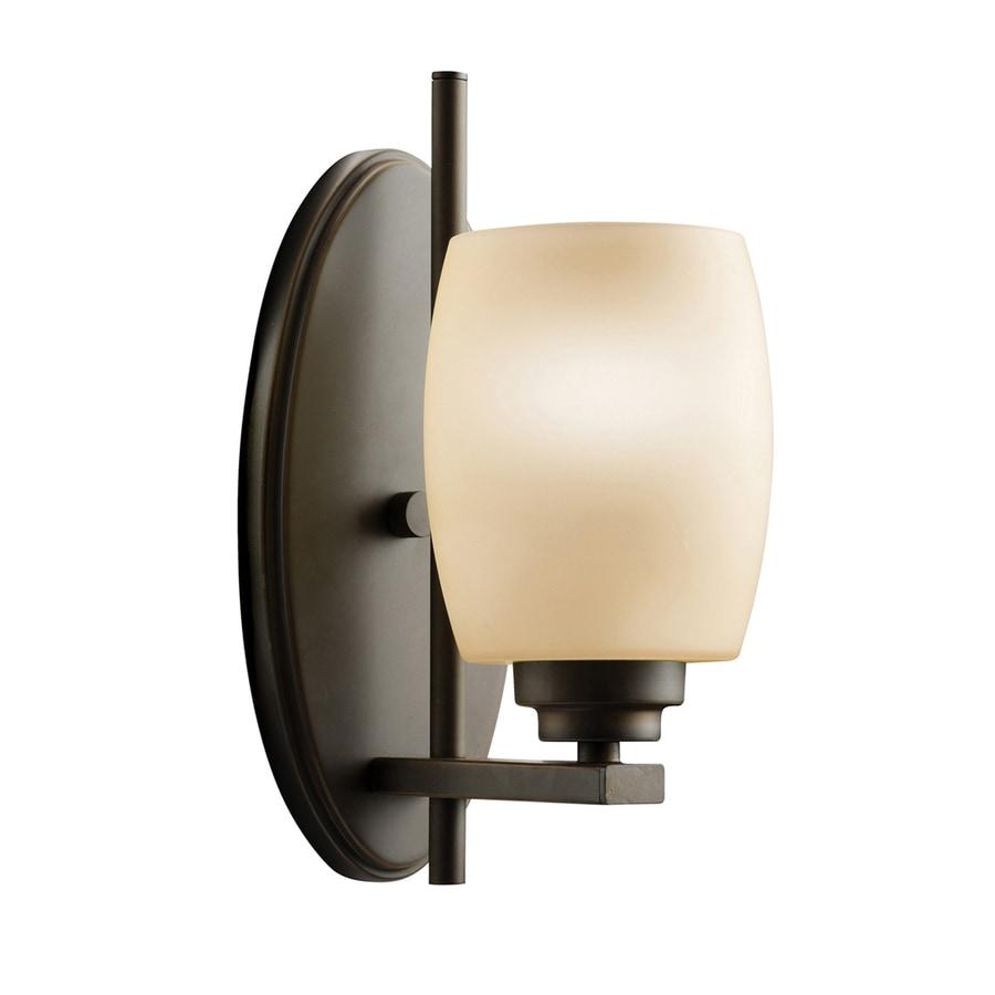Kichler Eileen 1-Light 10.75-in Olde bronze Cylinder Vanity Light