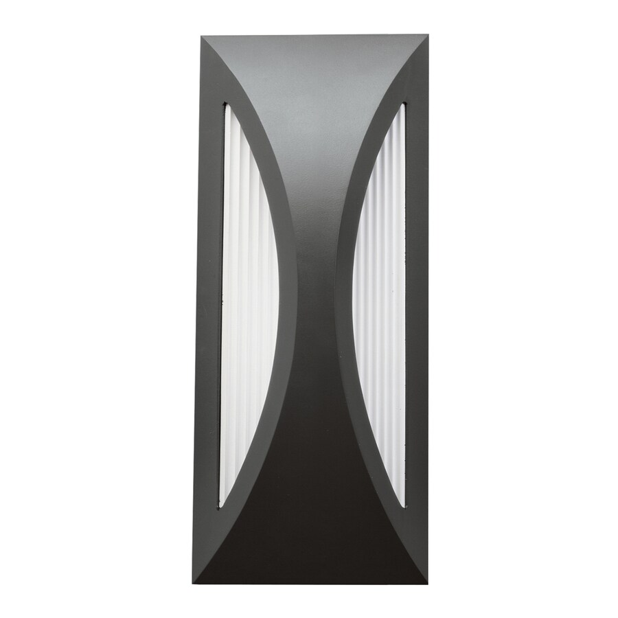 Kichler Cesya 12-in H LED Satin Black Outdoor Wall Light