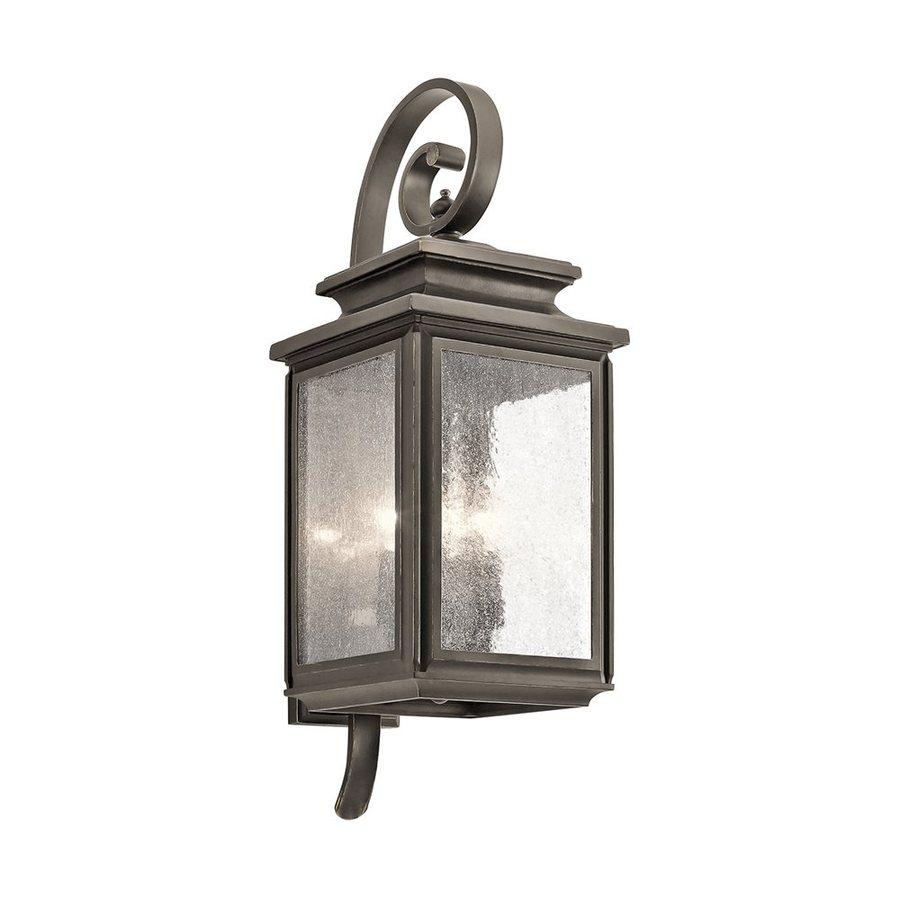 Kichler Lighting Wiscombe Park 26.25-in H Olde Bronze Outdoor Wall Light