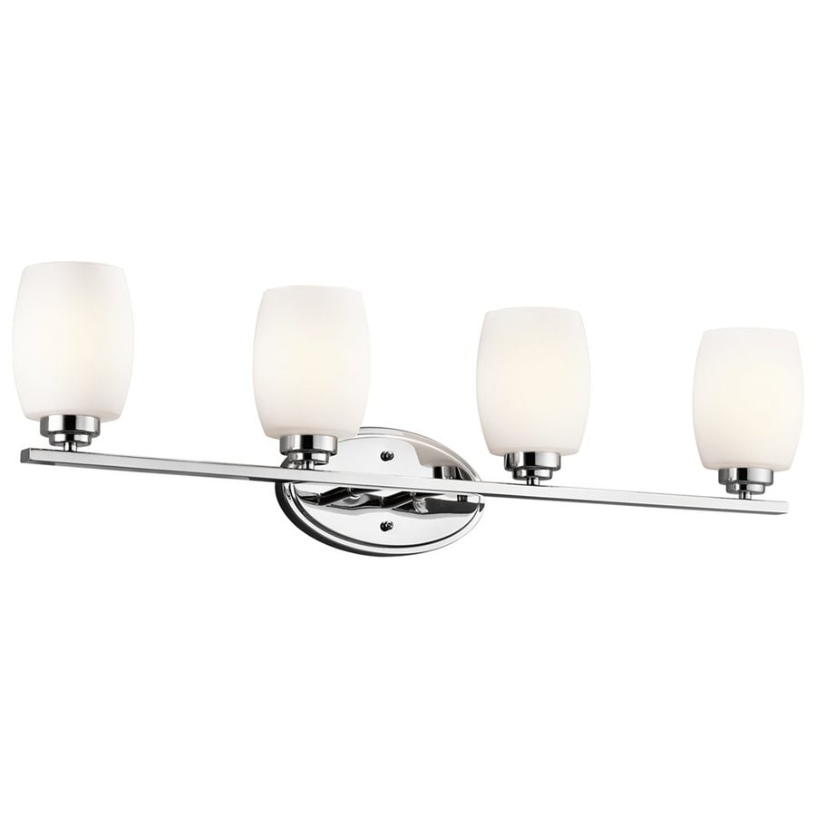 Kichler Lighting Eileen 4-Light Chrome Cylinder Vanity Light