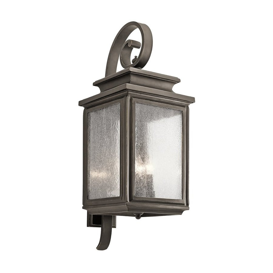 Kichler Lighting Wiscombe Park 30.5-in H Olde Bronze Outdoor Wall Light