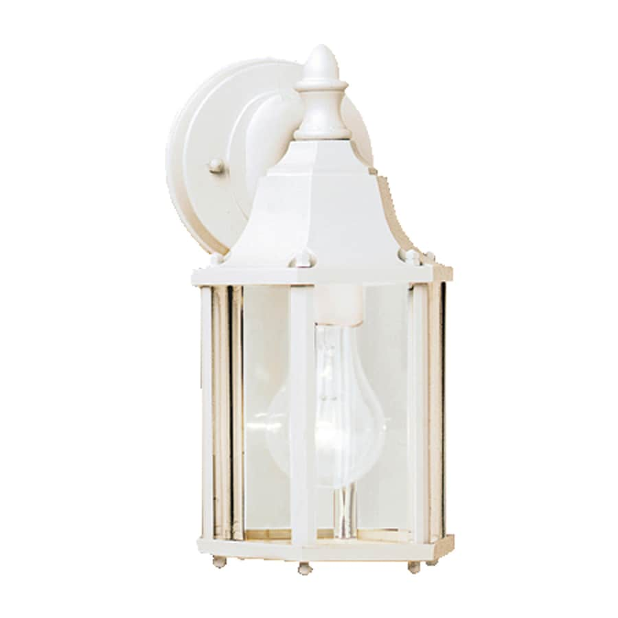 Kichler Chesapeake 10.25-in H White Outdoor Wall Light
