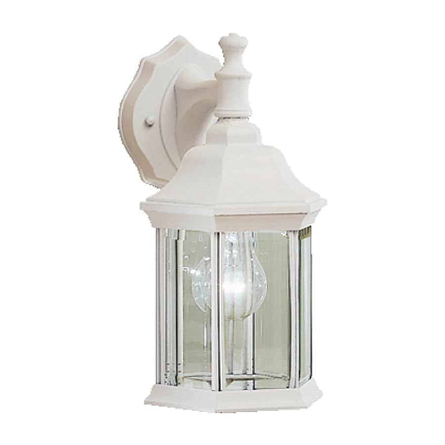 Shop Kichler Chesapeake H White Outdoor Wall Light At