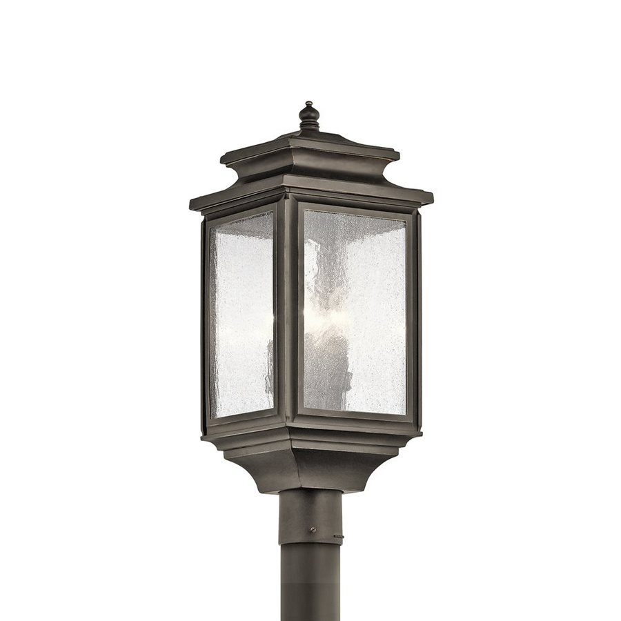 Shop kichler wiscombe park 2325 in h olde bronze post light at kichler wiscombe park 2325 in h olde bronze post light mozeypictures Image collections