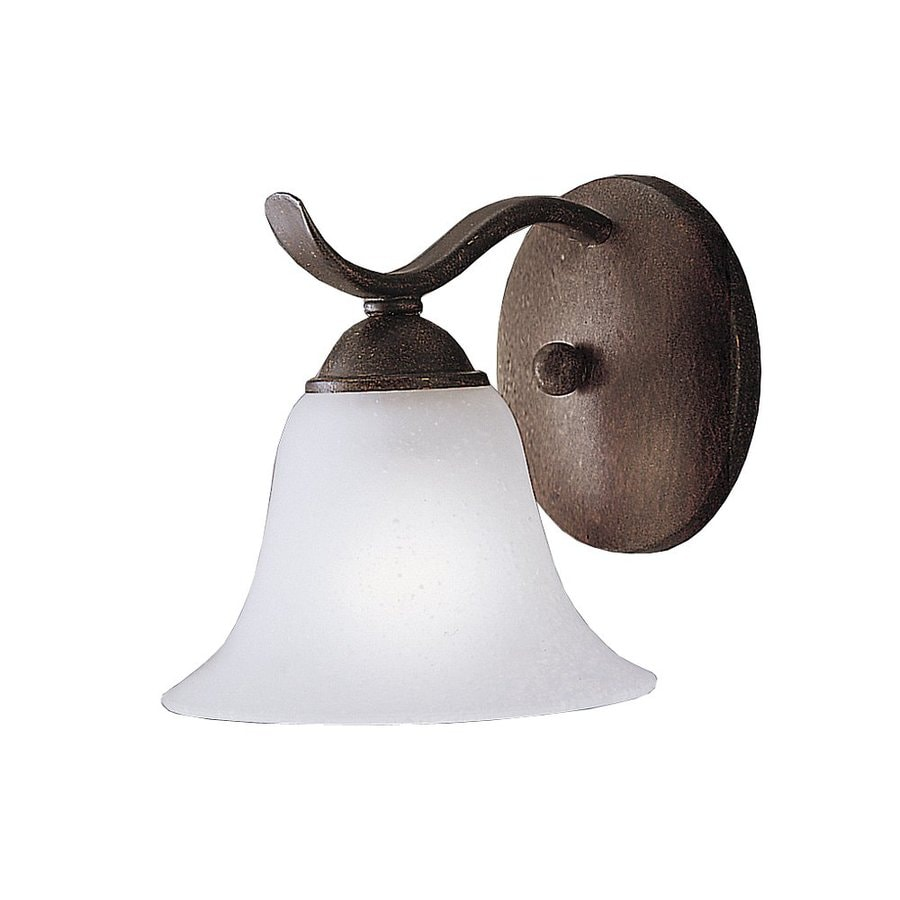 Kichler Dover 1-Light 6.5-in Tannery bronze Bell Vanity Light
