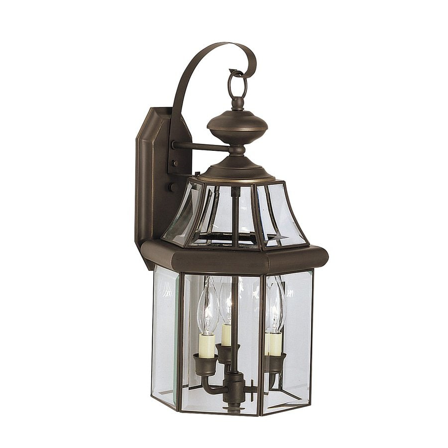 Kichler Embassy Row 21-in H Olde Bronze Outdoor Wall Light