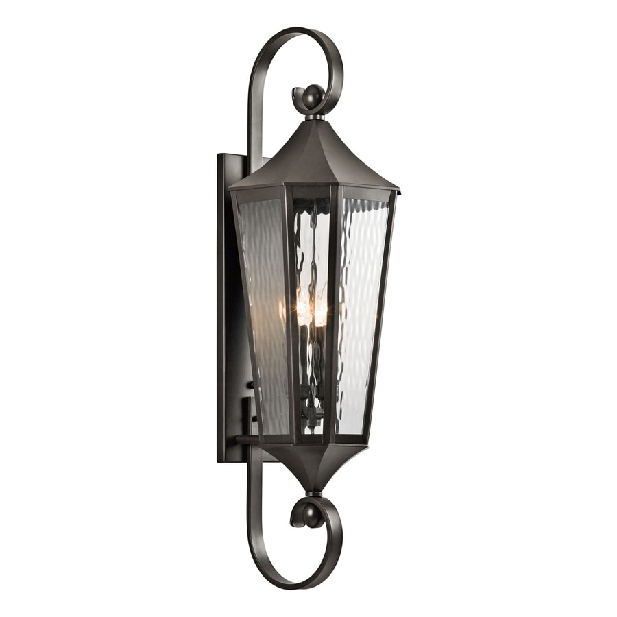 Kichler Rochdale 39.75-in H Olde Bronze Outdoor Wall Light